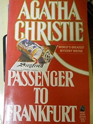 9780671706043: Passenger to Frankfurt