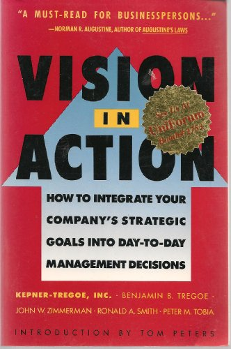 9780671706432: Vision in Action: Putting a Winning Strategy to Work