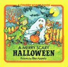 9780671707217: A Merry Scary Halloween (Chubby Board Book)