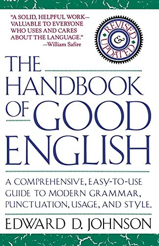 9780671707972: The Handbook of Good English