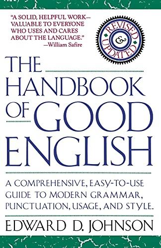 9780671707972: The Handbook of Good English
