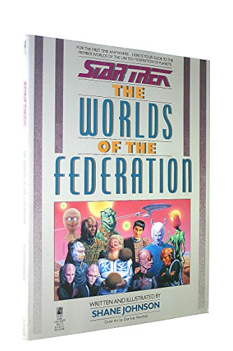 Worlds of the Federation (Star Trek) (0671708139) by S. Johnson; Shane Johnson