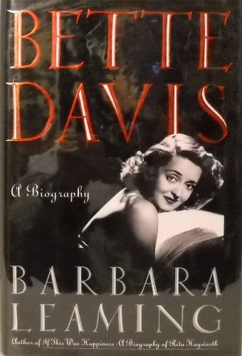 9780671709556: Bette Davis: A Biography