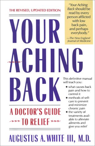 9780671710002: Your Aching Back: A Doctor's Guide to Relief