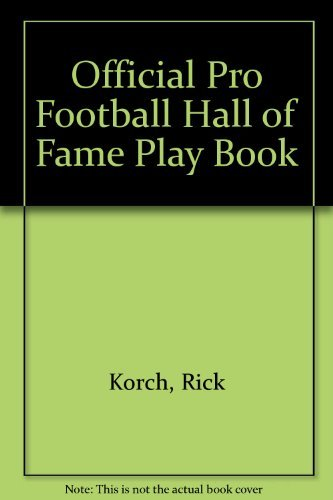 9780671710026: Official Pro Football Hall of Fame Playbook
