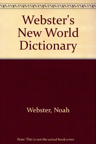 9780671710415: Webster's New World Dictionary