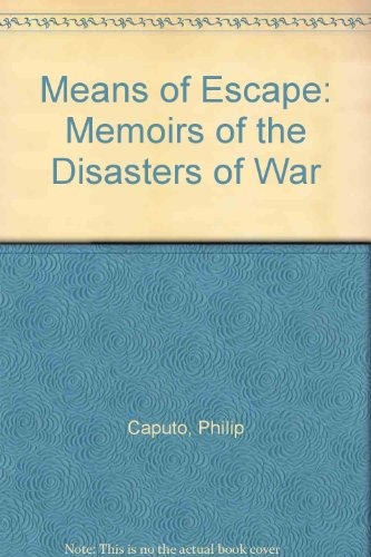 9780671711214: Means of Escape: Memoirs of the Disasters of War