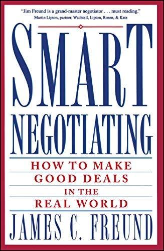 9780671712693: Smart Negotiating