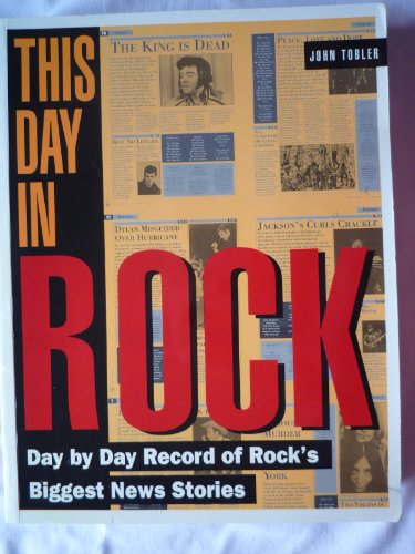 9780671712860: This Day in Rock. Day by Day Record of Rock