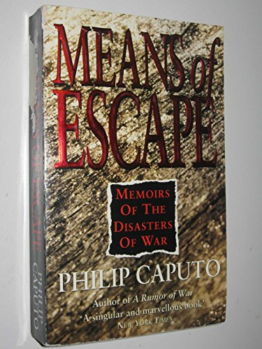 9780671715465: Means of Escape: Memoirs of the Disasters of War
