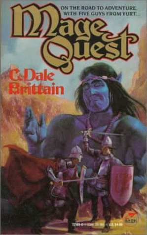 9780671721695: Mage Quest (Wizard of Yurt)
