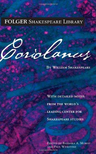 9780671722586: Coriolanus (Folger Shakespeare Library)