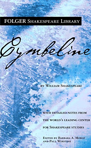 9780671722593: Cymbeline (New Folger Library Shakespeare)