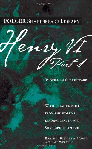 9780671722661: Henry VI Part 1 (Folger Shakespeare Library)