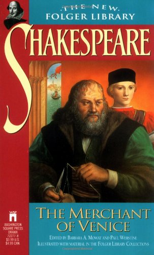 9780671722777: Merchant of Venice (Folger Shakespeare Library)