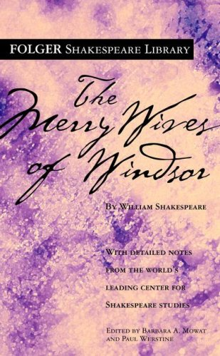 9780671722784: The Merry Wives of Windsor (Folger Shakespeare Library)