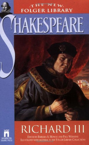 9780671722845: Richard III (The New Folger Library)