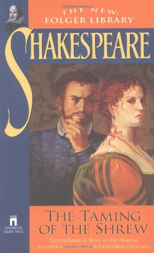 shakespeare s the taming of the shrew The taming of the shrew begins with an induction in which a nobleman plays a trick on a beggar, christopher sly, treating sly as if he is a nobleman who has lost his memory a play is staged for sly—the play that we know as the taming of the shrew.