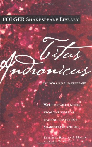 9780671722920: Titus Andronicus (New Folger Library Shakespeare)