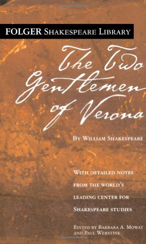 9780671722951: Two Gentleman of Verona (Folger Shakespeare Library)
