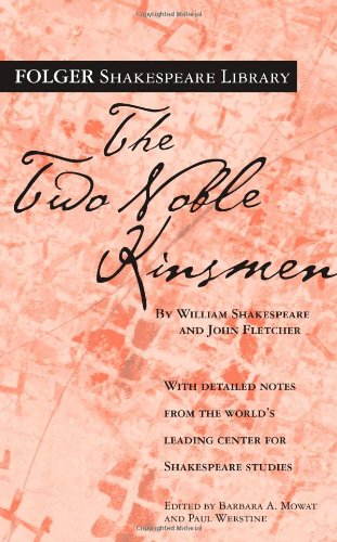 9780671722968: The Two Noble Kinsmen (Folger Shakespeare Library)
