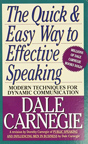 9780671724009: The Quick and Easy Way to Effective Speaking