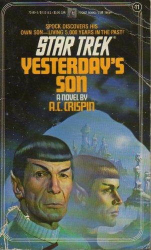 9780671724498: YESTERDAY'S SON - STAR TREK #11 (Star Trek Novel No. 11)