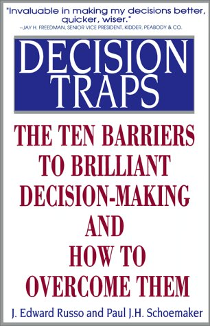 9780671726096: Decision Traps: The Ten Barriers to Decision-Making and How to Overcome Them