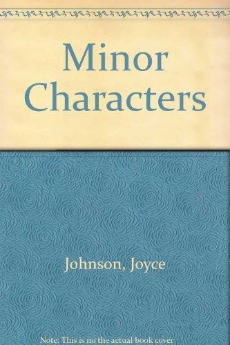 9780671727901: Minor Characters