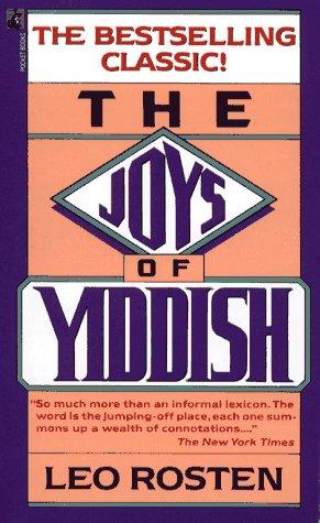 9780671728137: The Joys of Yiddish