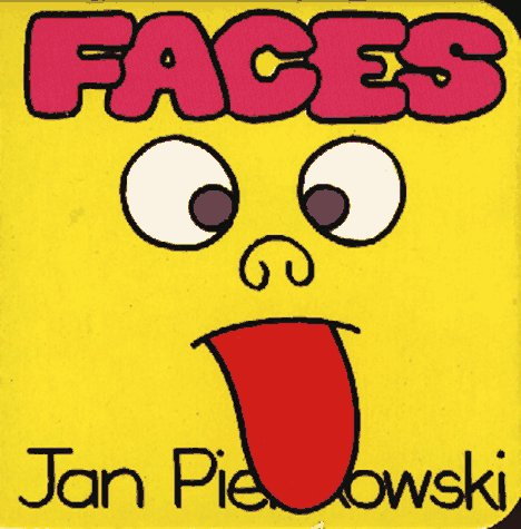 9780671728465: Pienski III- Faces (Nursery Board Books)