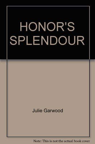 9780671729523: Honor's Splendour