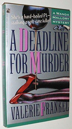 9780671730215: A Deadline for Murder