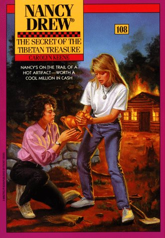 9780671730543: The Secret of the Tibetan Treasure (Nancy Drew #108)