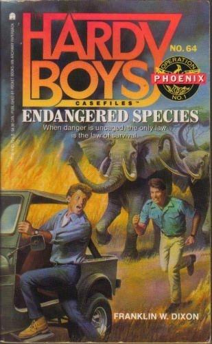 9780671731007: Endangered Species (Operation Phoenix #1) (Hardy Boys Casefiles, Case 64)