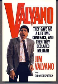 9780671732530: Valvano: They Gave Me a Lifetime Contract and Then They Declared Me Dead
