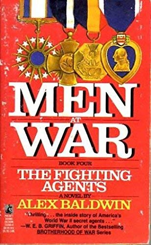 9780671732806: FIGHTING AGENTS (MEN AT WAR 4) (Men at War, Book 4)