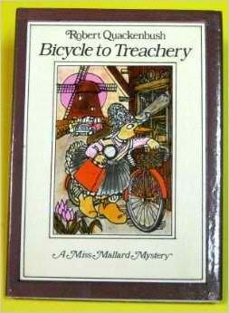 9780671733469: Bicycle to Treachery (Miss Mallard Mystery Series)