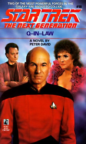 9780671733896: Q-In-Law (Star Trek The Next Generation, No 18)