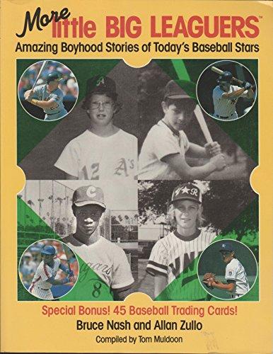 9780671733940: More Little Big Leaguers: Amazing Boyhood Stories of Today's Baseball Stars