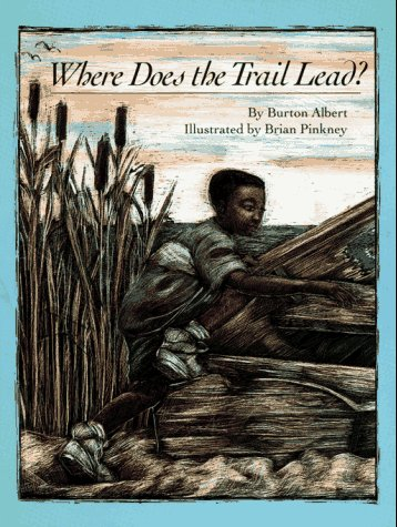 WHERE DOES THE TRAIL LEAD (AUTHOR SIGNED): Albert, Burton