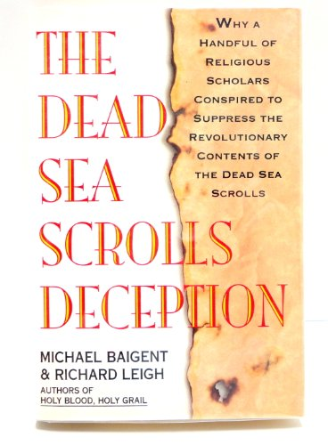 9780671734541: The Dead Sea Scrolls Deception