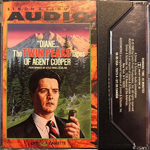 9780671735739: Diane - Twin Peaks Tapes of Agent Cooper
