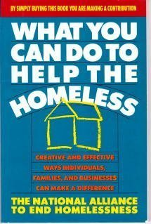 What You Can Do to Help the Homeless: Kenyon, Thomas L., Blau, Justine