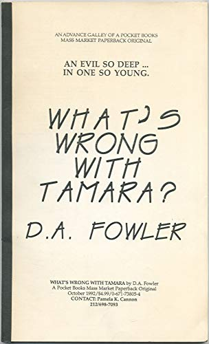 9780671738051: What's Wrong with Tamara?