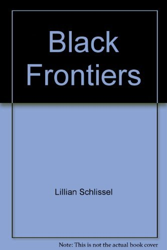 9780671738532: Black Frontiers