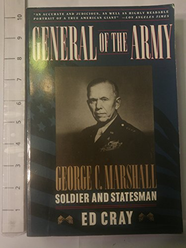 9780671741242: General of the Army: George C. Marshall, Soldier and Statesman