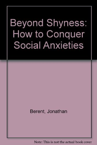 9780671741372: Beyond Shyness: How to Conquer Social Anxieties