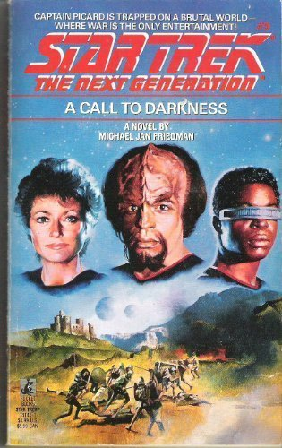 9780671741419: A Call to Darkness (Star Trek The Next Generation, No 9)
