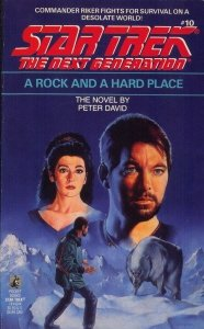 9780671741426: A Rock and a Hard Place (Star Trek: The Next Generation, No. 10)